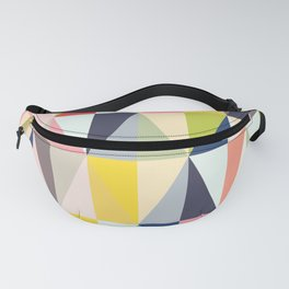 Abstract Geo Diamonds Fanny Pack