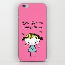 Girl Boner iPhone Skin