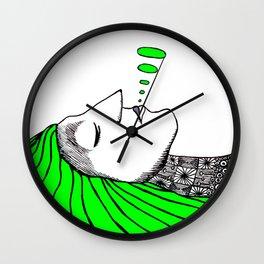 Slumberer Wall Clock