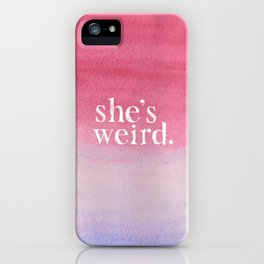 VVVVV iPhone Case