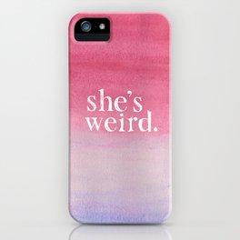 VVVVV iPhone Case
