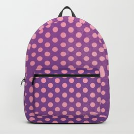 Lots of Dots - Geometric Pattern Design (Purple) Backpack