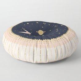 Love in Space Floor Pillow