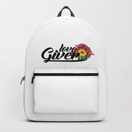 love giver Backpack
