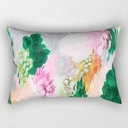 light path: abstract landscape Rectangular Pillow