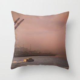 Seattle Morning Throw Pillow