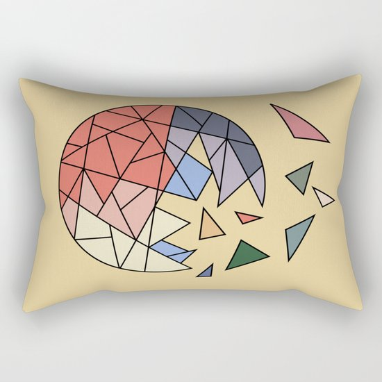 CONSTANT EVOLUTION (abstract geometric) Rectangular Pillow