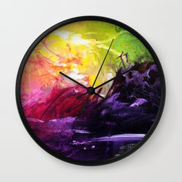Secret Powers Wall Clock