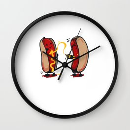 Hold The Relish Wall Clock
