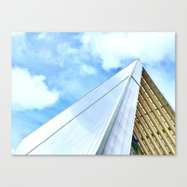 The Cardboard Cathedral Canvas Print