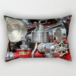 Old Fire Truck Rectangular Pillow
