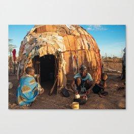 Ekai's home Canvas Print