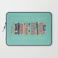 Read Books Laptop Sleeve