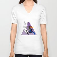 homestuck V-neck T-shirts featuring Ugly Story by Alice Everyday