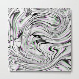 Liquid Marble Metal Print