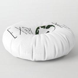Explore the Globe x BW Floor Pillow