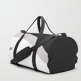 Abstract Taupe II #kirovair #design #minimal #society6 #buyart Duffle Bag