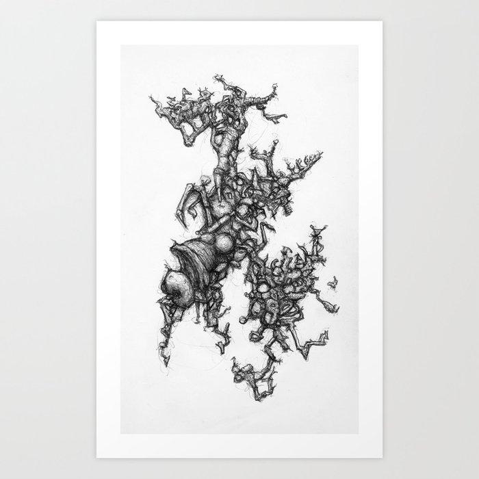Absketch Art Print