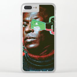 Miles on Namek Clear iPhone Case