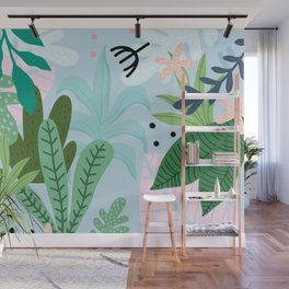 Into the jungle Wall Mural