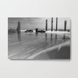 'Long Lines' - Port Willunga, South Australia Metal Print