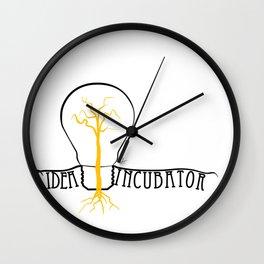 idea incubator Wall Clock