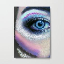 Eye of the Warrior Metal Print