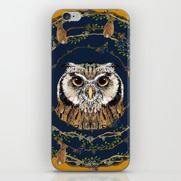 Woodland Owl iPhone Skin