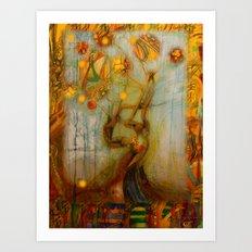 Axis Mundi IV Art Print
