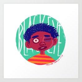 Black Eyed Society Art Print