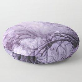 Infrared Landscape, Purple Breeze Floor Pillow