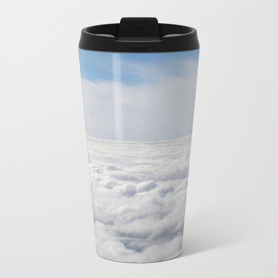 Above the Clouds Metal Travel Mug