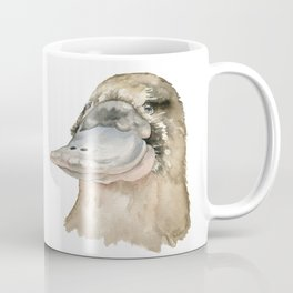 Duckbill Platypus Watercolor Coffee Mug