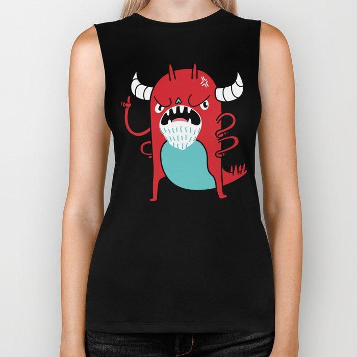 Monster Nagging Biker Tank