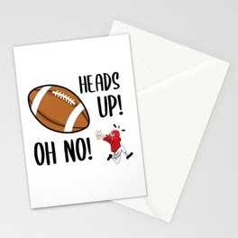 Heads up! Oh No! Stationery Cards