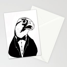 Falcon Tux Stationery Cards