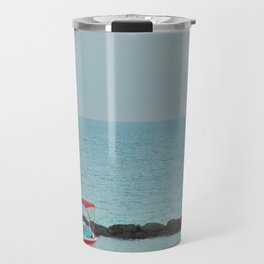 Between Sea and Sky Travel Mug