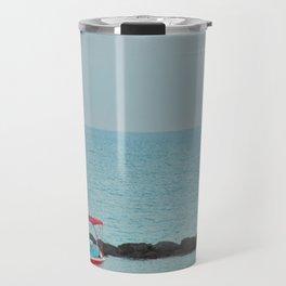 Between Sea and Sky Travel Mug