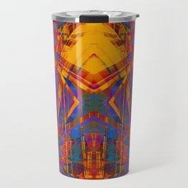 Grunge star pattern Travel Mug