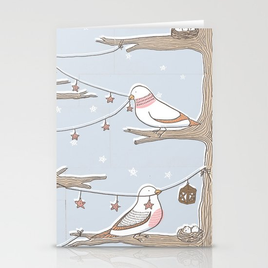 Birdies Stationery Cards