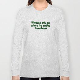Wrinkles Long Sleeve T-shirt