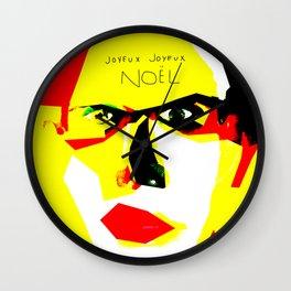 JOYEUX JOYEUX NOËL Wall Clock