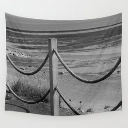 Ropes At Low Tide Wall Tapestry