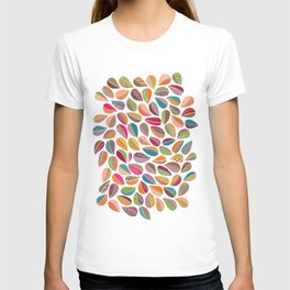 Leaf Colorful T-shirt