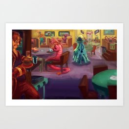 Cafeteria Art Print