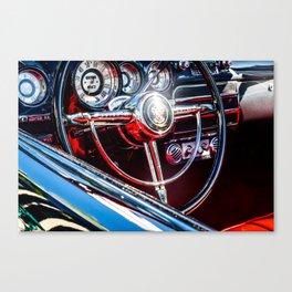 Behind The Wheel - Study 20 Canvas Print