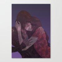 korrasami Canvas Prints featuring Korrasami by Alex Alarcon