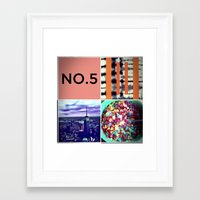 karl Framed Art Prints featuring Karl by Rite