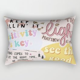 Pink Mood Rectangular Pillow