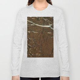 Golden Wrinkles Long Sleeve T-shirt